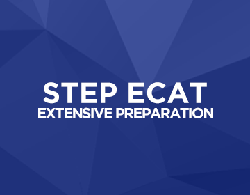 STEP ECAT Extensive Preparation