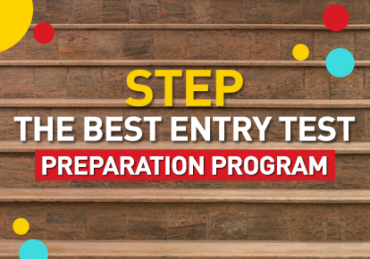 STEP is The Best Entry Test Preparation Program