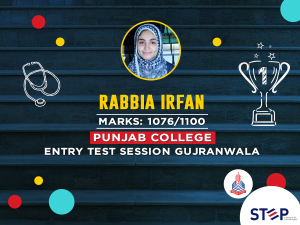 STEP TOPPER - Rabia Irfan