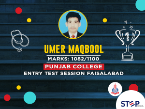 STEP TOPPER - Umer Maqbool