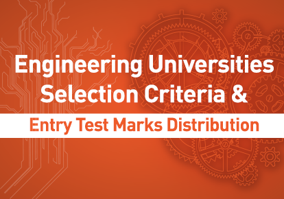 Selection Criteria & Marks Distribution of Engineering Universities Entrance Test