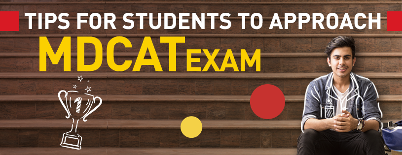 Tips for students to approach MDCAT Exam Banner