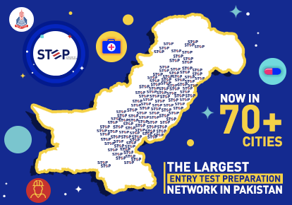 The Largest Entry Test Preparation Network in Pakistan
