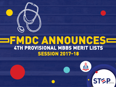 FMDC – 4th Provisional MBBS Merit Lists Session 2017-18