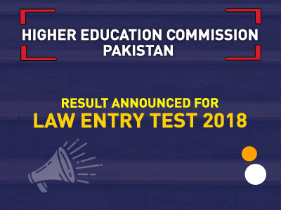 Law Entry Test 2018 Result Announced