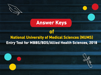 Announcement by National University of Medical Sciences (NUMS)
