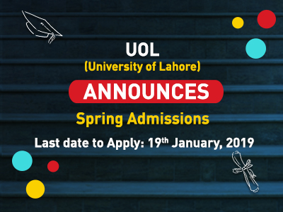 Announcement by University of Lahore