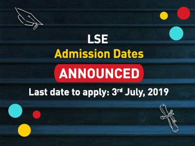 LSE Announced Admission 2019