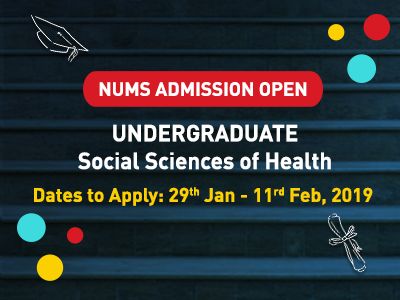 NUMS Admission Social Sciences 2019
