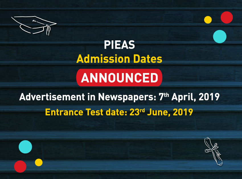 PIEAS Announced Admission 2019 - STEP