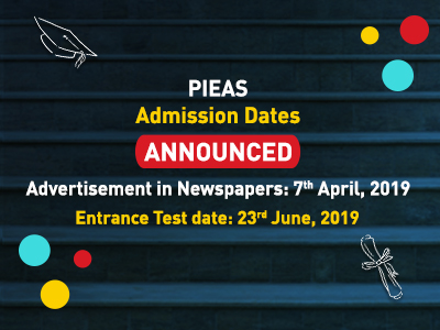 PIEAS Announced Admission 2019
