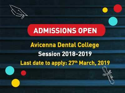 Admissions Open for Avicenna Dental College