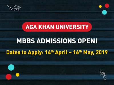 Admissions open for Agha Khan University