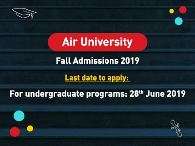 Air University Admission Fall 2019