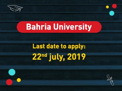 Bahria University Admissions 2019