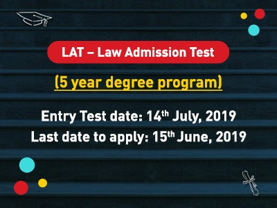 LAT – Law Admission Test 2019