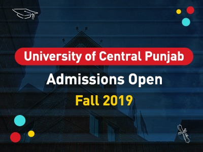UCP Admissions Open (Fall 2019)