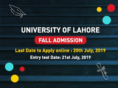 University of Lahore Fall Admission 2019