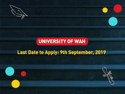 Admissions 2019 University of WAH
