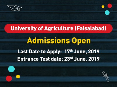 University of Agriculture Faisalabad Admission Open