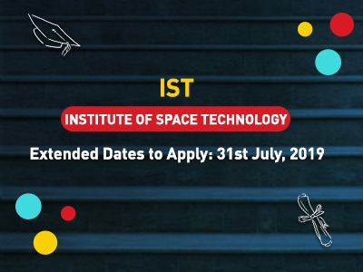 IST – Institute of Space Technolog Admission 2019