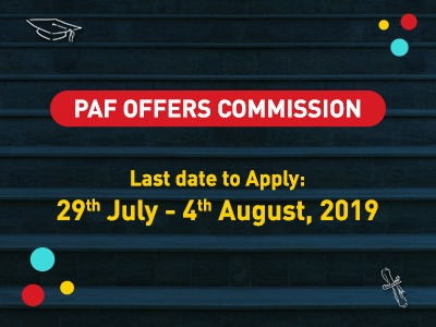 PAF OFFERS COMMISSION