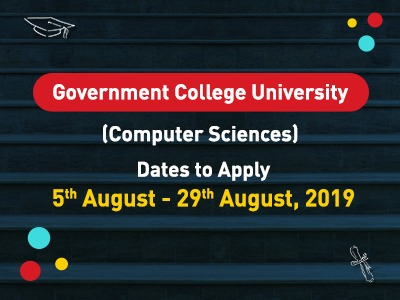 Government College University  Lahore Admissions 2019