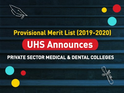 Provisional Merit List (2019-2020) from Private Sector Medical & Dental Colleges