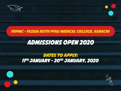 FRPMC – FAZAIA RUTH PFAU MEDICAL COLLEGE
