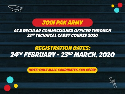 Join Pakistan Army 2020
