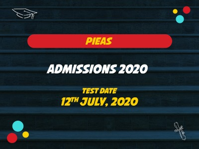 PIEAS  ADMISSIONS 2020