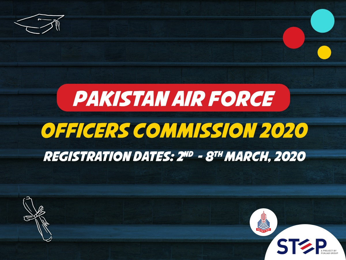 PAF Officers Commission 2020