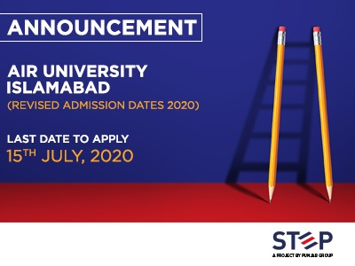 Air University Islamabad Admissions Date Extended 2020