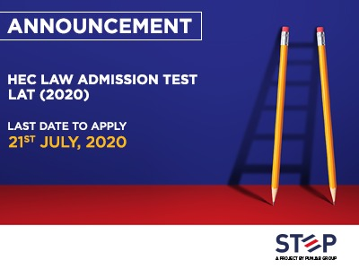 HEC Law Admission Test (LAT) 2020