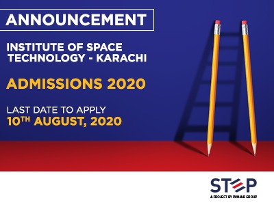 Institute Of space technology Karachi Admissions 2020
