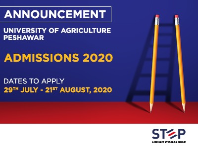 University Of Agriculture Peshawar Admissions 2020