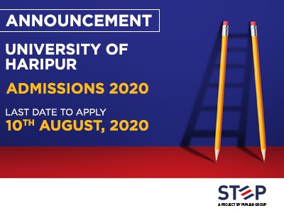 University Of Haripur Admissions 2020