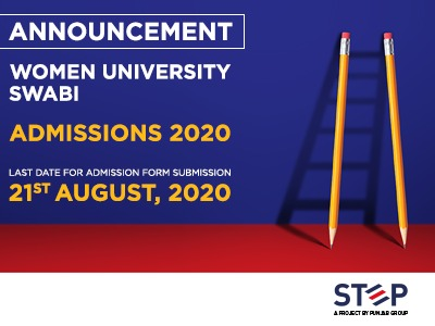 Women University Swabi Admissions 2020