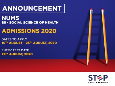 NUMS Social Science and Health Admissions 2020