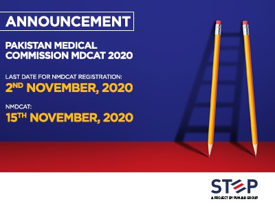 Pakistan Medical Commission MDCAT 2020