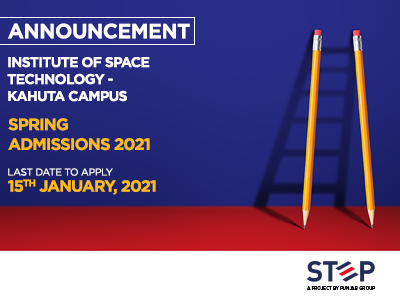 Institute of Space Technology – Kahuta Campus Spring Admissions 2021