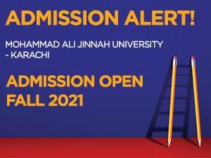 Mohammad Ali Jinnah University - Karachi Admissions Open Fall 2021