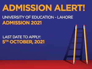 University of Education - Lahore Admissions 2021